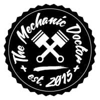 The Mechanic Doctor pin logo