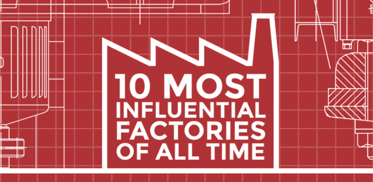 10 Most Influencial Factories of all time