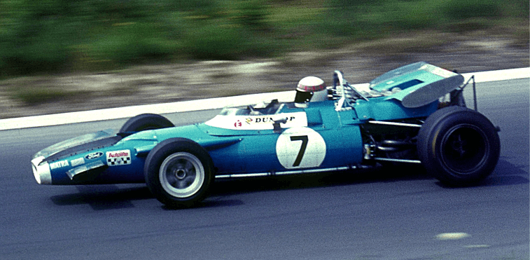 Why Did Jackie Stewart Tape a Spanner to His BRM P83