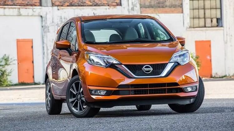 Nissan Versa | Most fuel-efficient vehicles