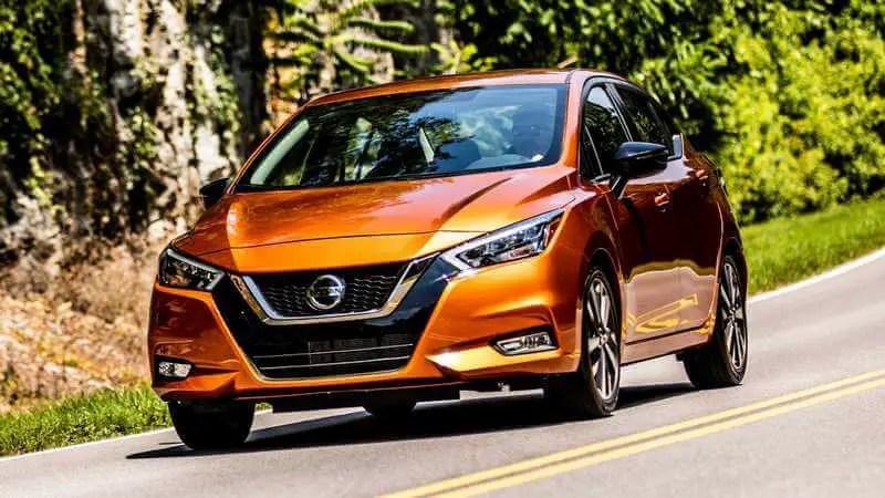 Copper 2020 Nissan Versa Sedan