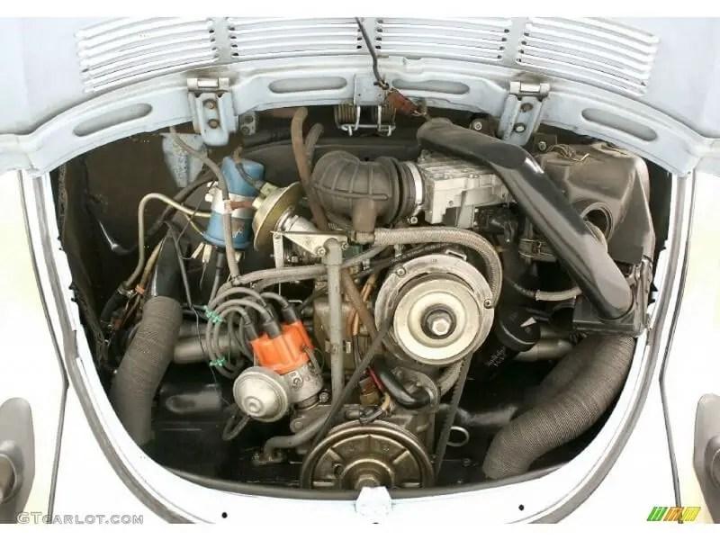 VW Flat-4 engine