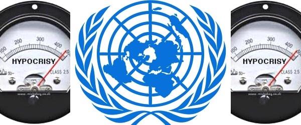 Hasil gambar untuk hypocrisy united nations