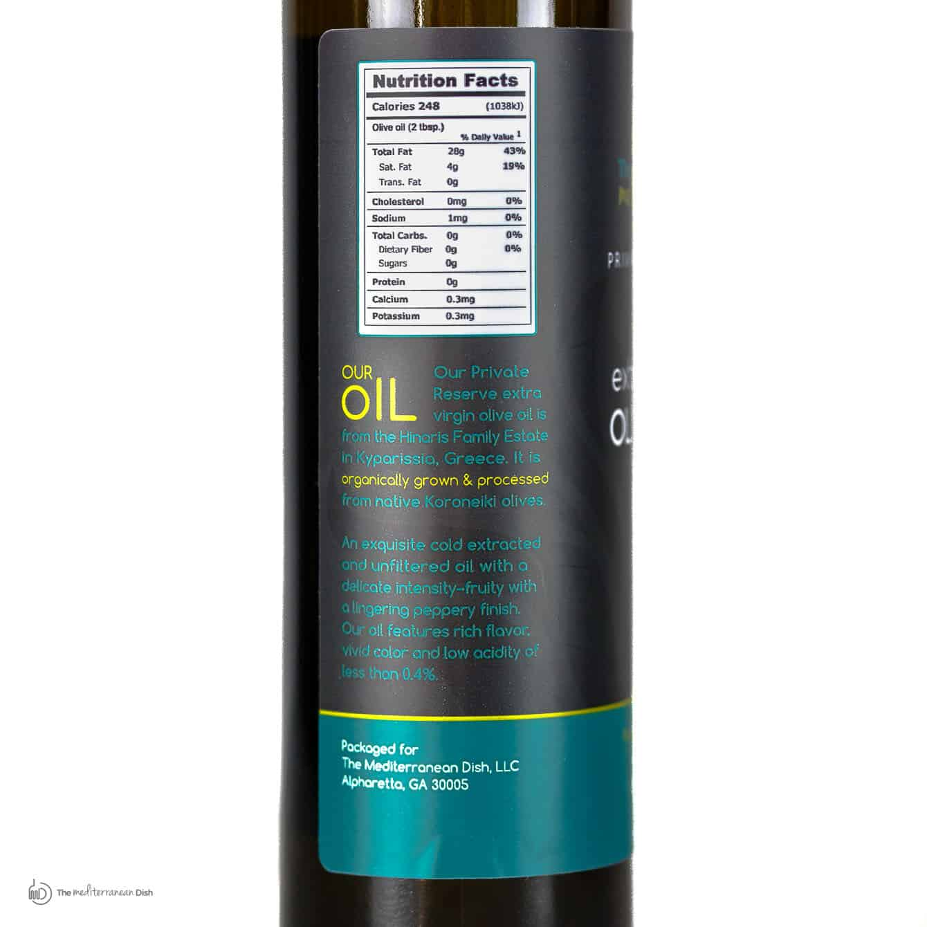 Private Reserve Greek Extra Virgin Olive Oil  The
