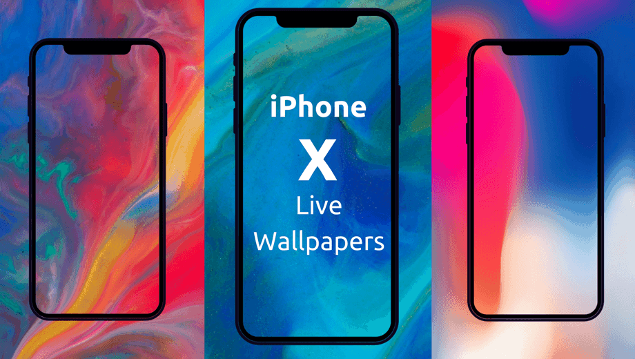download iphone x live wallpapers for android static