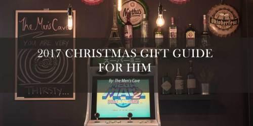 Christmas Gift Guide For Men Banner
