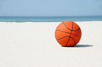 Basketball on vacation...