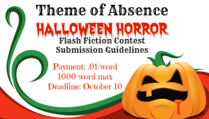 Halloween Horror Flash Fiction Contest Opens Today