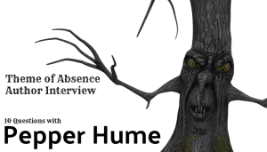 10 Questions with author Pepper Hume