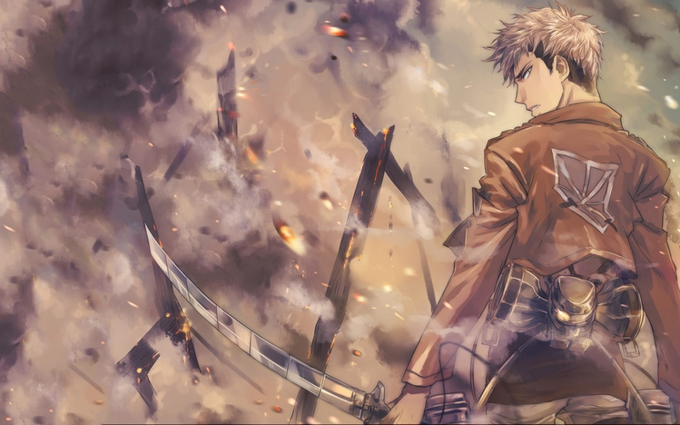 Animated Cartoons Images Wallpapers Attack On Titan Windows 10 Theme Themepack Me
