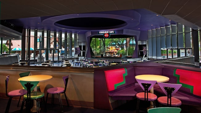 Cosmic Ray Starlight Cafe