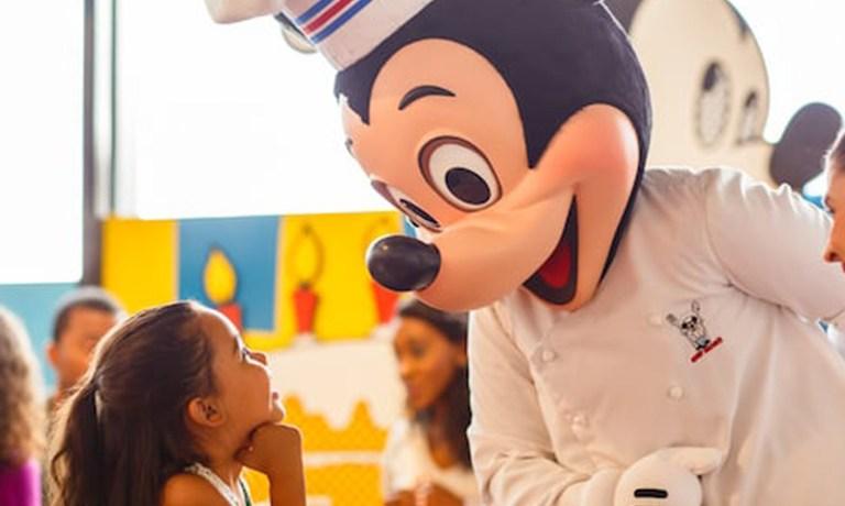 Disney World Character Dining
