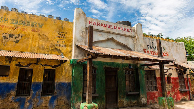 Harambe Market best quick service animal kingdom