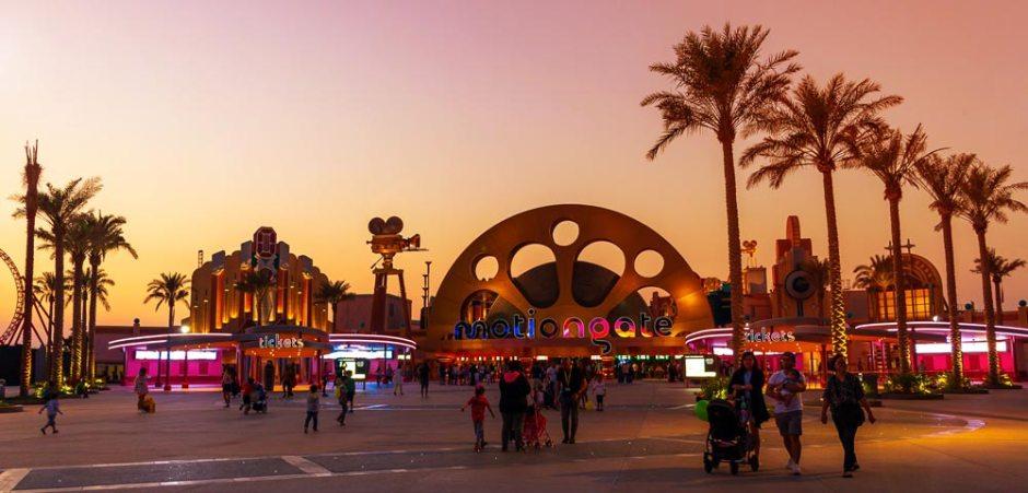 Motiongate Dubai Best theme parks in Asia