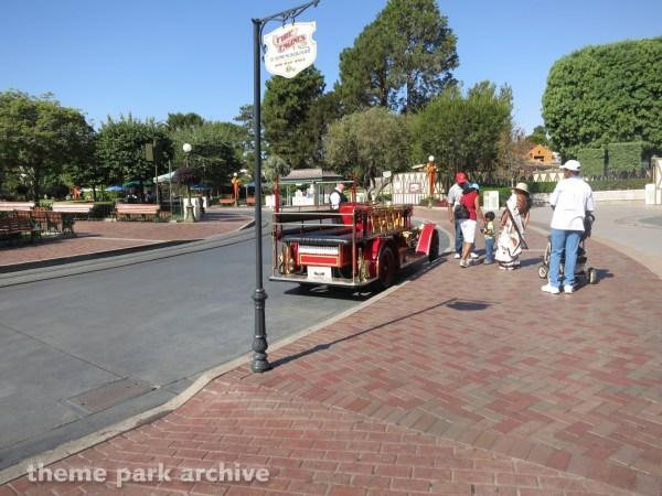Main Street Vehicles Disneyland Theme Park Archive