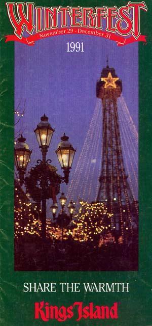 Theme Park Brochures Kings Island Winterfest - Theme Park ...