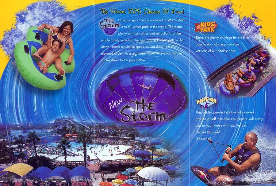 Theme Park Brochures Wetn Wild  Theme Park Brochures