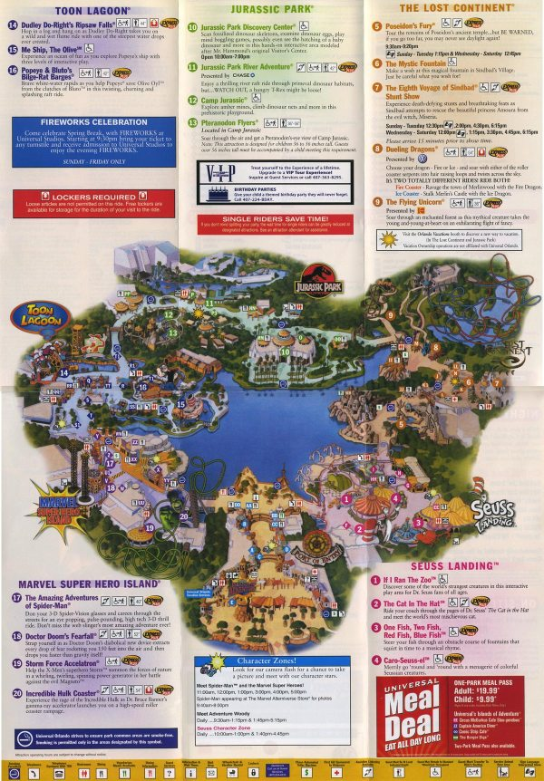 Universal Florida Map.20 Universal Studios Florida Park Map Pdf Pictures And Ideas On