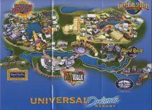 Universal Studio Orlando Resort Map