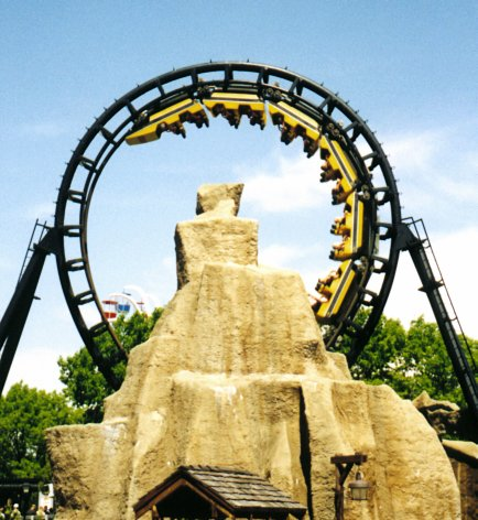 Demon Six Flags Great America In Illinois Theme Park