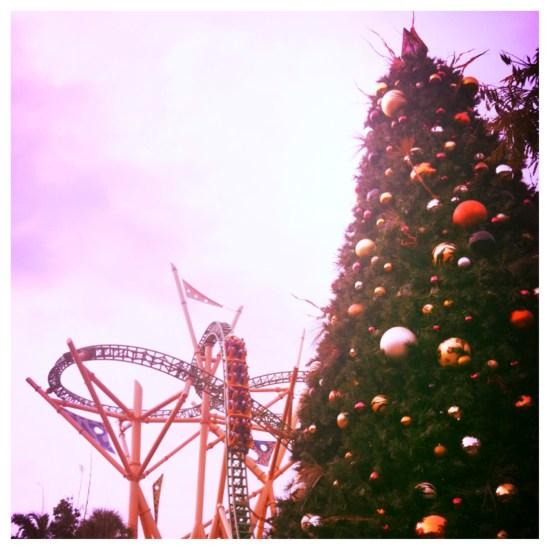 ChristmasTown at Busch Gardens 2013