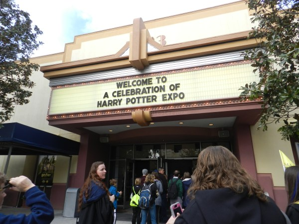 Enter the Harry Potter Expo Center