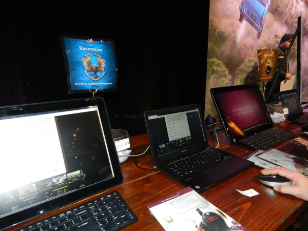 Pottermore booth