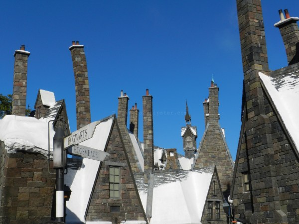 Breathtaking scene of Hogsmeade to end an excellent day
