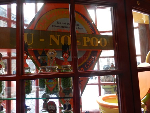 Diagon Alley: U-No-Poo