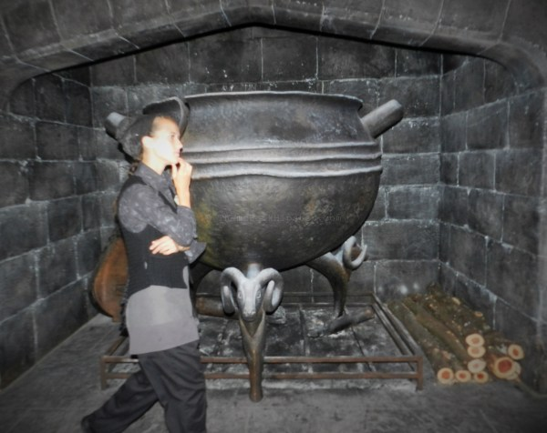 Diagon Alley: Giant Cauldron