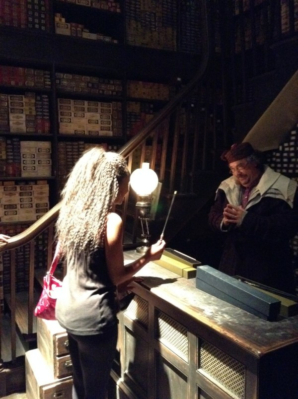 Diagon Alley: Ollivander's Wand Shop