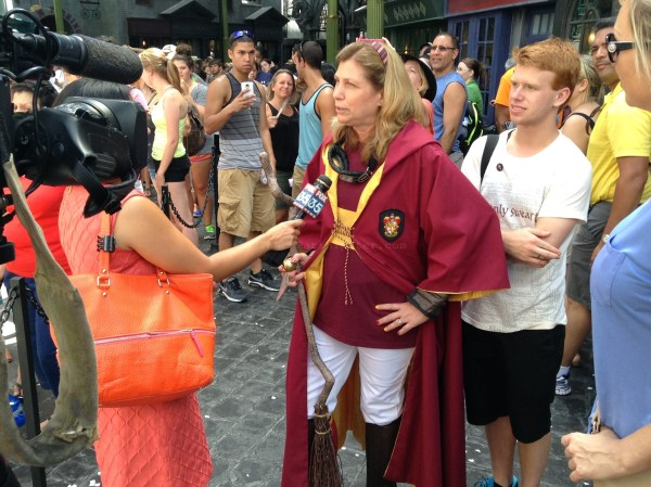 Diagon Alley: Quidditch Celebrity