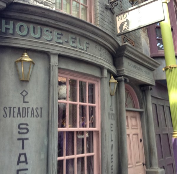 Diagon Alley: House-Elf Replacement Agency