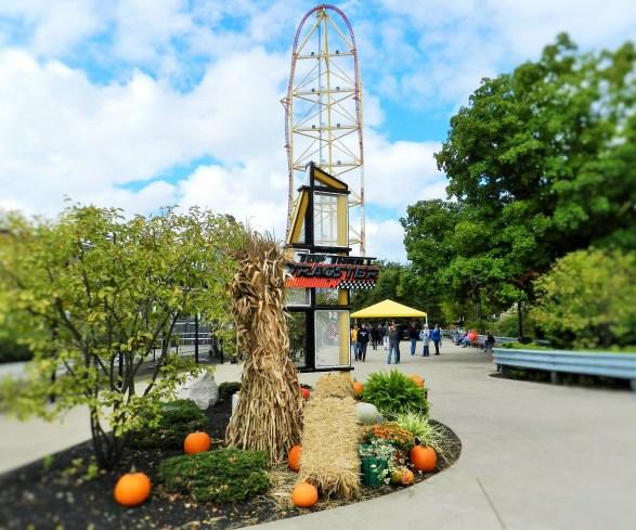 Dragster Tall Roller Coaster at Cedar Point