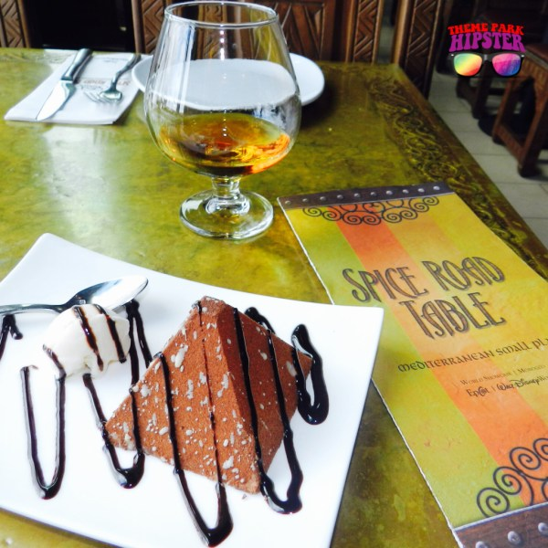 Grand Marnier and Chocolate Pyramid at Spice Road Table Epcot