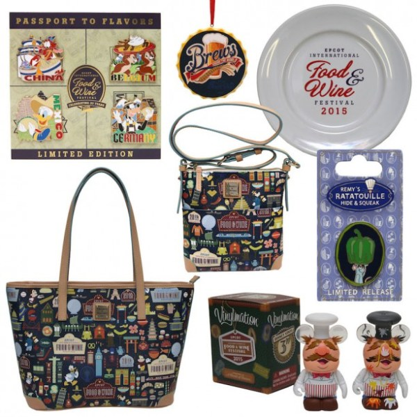 2015 Epcot Food and Wine Festival Merchandise