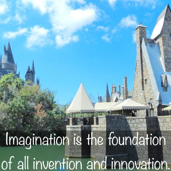imagination jk rowling