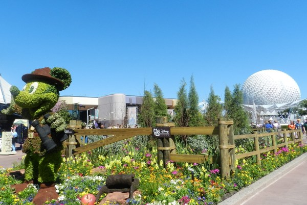 walt disney epcot flower and garden festival