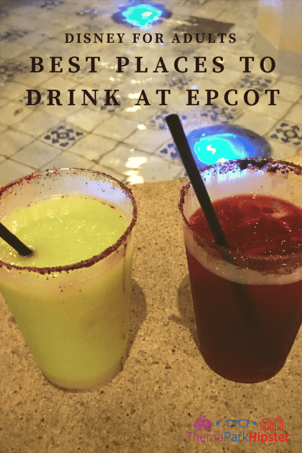 Where to find the best drinks at Epcot?
