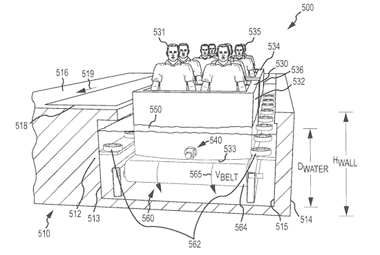 Disney submits plans for an omnimover boat ride