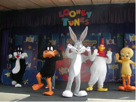 Bugs Bunny Boomtown at Six Flags Over Georgia