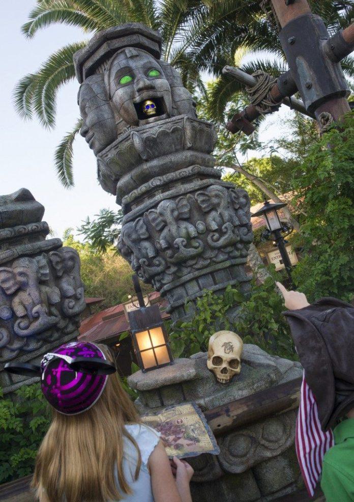Adventureland Magic Kingdom