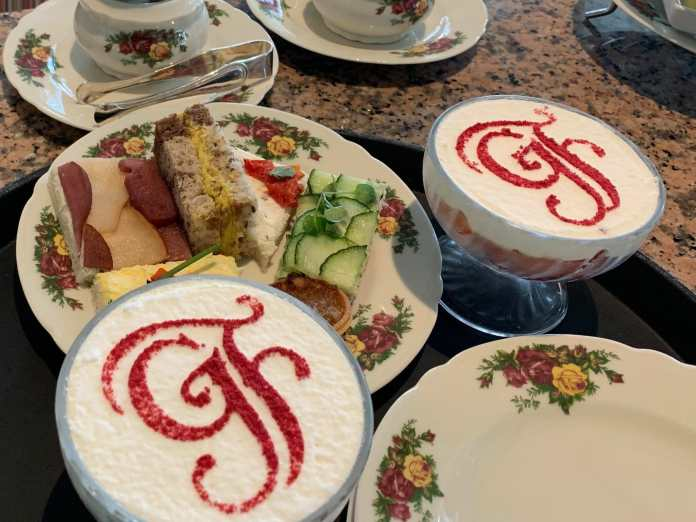 Food at Afternoon Tea at Disney's Grand Floridian Resort and Spa
