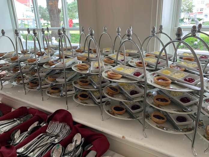 Afternoon Tea Food at the Grand Floridian Resort and Spa
