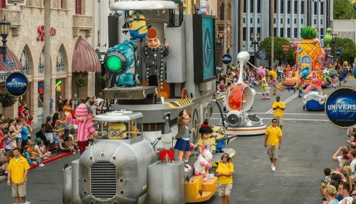 Universal's SuperStar Parade
