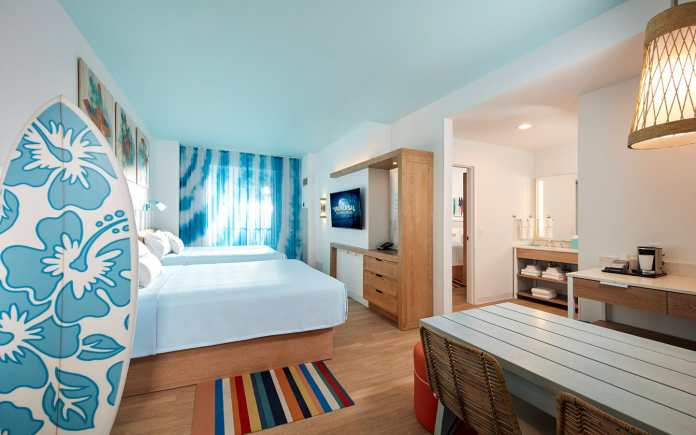 Universal hotels for large families
