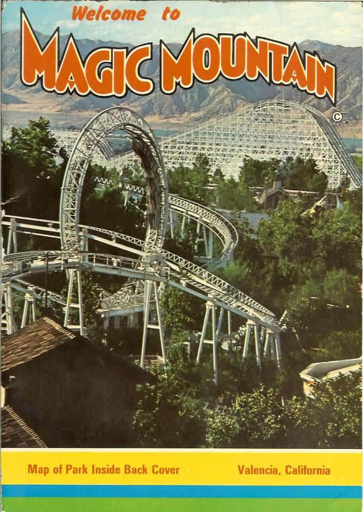 Six Flags Magic Mountain Shane S Amusement Attic 1978