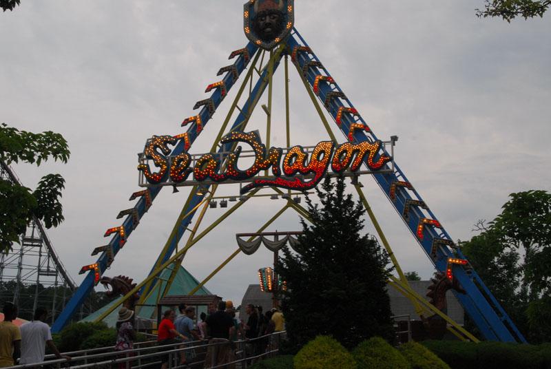 Clementon Amusement Park  Sea Dragon