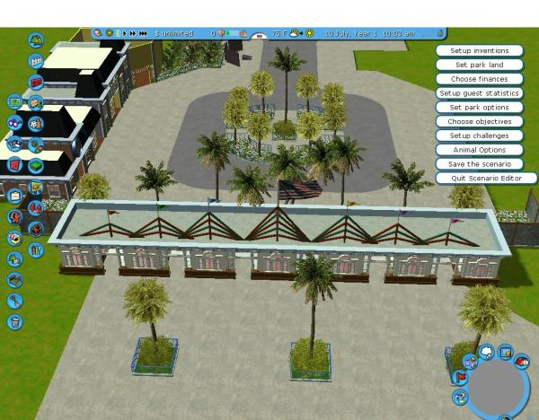 Roller Coaster Tycoon 2 Food Court - Year of Clean Water