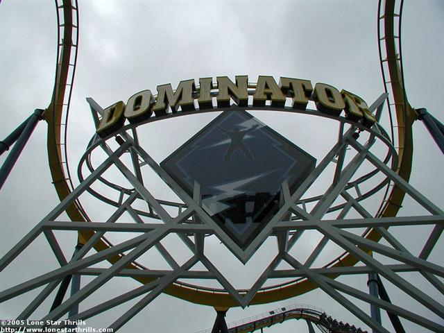 Dominator Batman Knight Flight Roller Coaster Photos